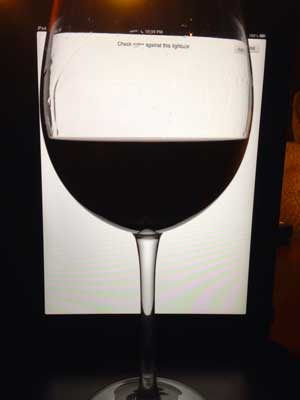 96 West Winery Syrah 2009