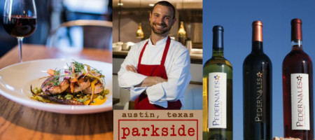 CHEF SHAWN CIRKIEL PAIRS PEDERNALES CELLARS