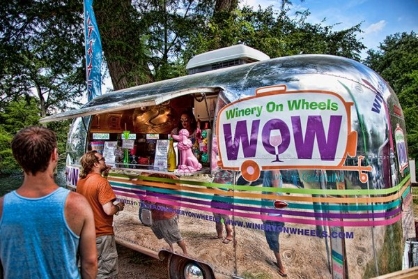 WINERY ON WHEELS READY FOR TEXAS FESTIVALS & EVENTS