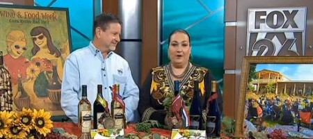 Bernhardt Winery on FOX Houston for Houston Wine & Food Week 2013