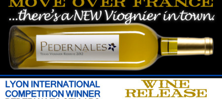 PEDERNALES CELLARS TO RELEASE THE WINNING WINE FROM FRENCH LYON INTERNATIONAL COMPETITION