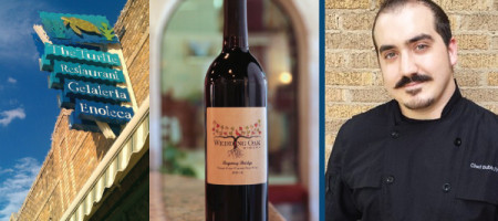 Chef Bubba Frank Pairs Wedding Oak Winery's Tempranillo Blend