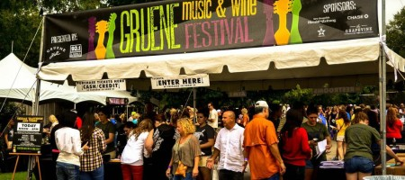 27th Annual Gruene Music & Wine Festival: OCT 10-13!