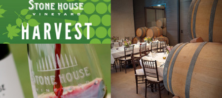 Harvest Dinner at Stone House Vineyard Aug 17