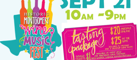 MONTGOMERY WINE & MUSIC FEST Sept 21