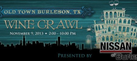 3rd Annual Burleson Wine Crawl Nov 9