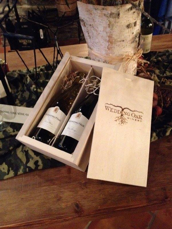 Wedding Oak Wine Box