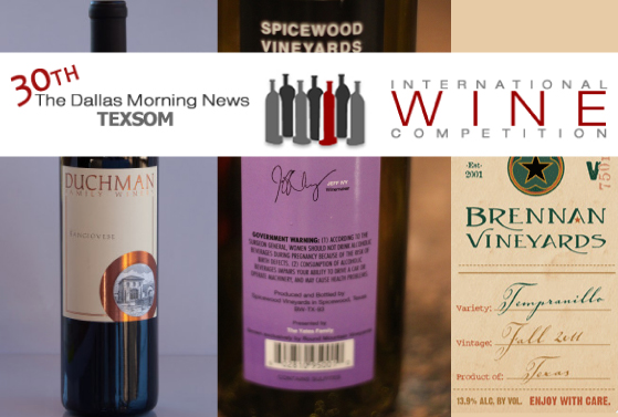 Texas Wines Win More Gold Medals - Update