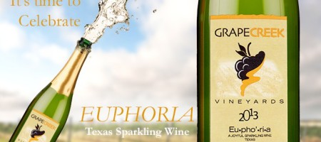 Grape Creek Vineyards Releases Their First Sparkling Wine