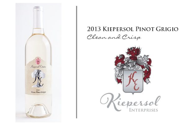 Kiepersol Estates Releases their 2013 Pinot Grigio