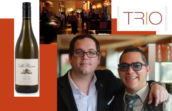April Texas Two Taste with McPherson Cellars Viognier at TRIO Austin