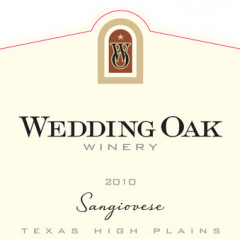 Wedding Oak Winery Sangiovese
