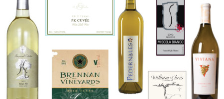 Texas Wine Journal: White Blends Ratings for 2014