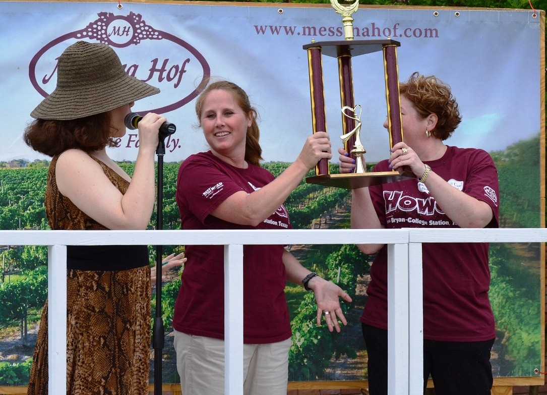 celebrity grape stomp winners CVB