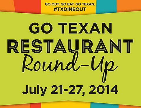 Go Texan Restaurant Round-Up July 21-27 Kickoff With Todd Staples