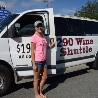 290 Wine Shuttle invites passengers to sit back and enjoy the wine country
