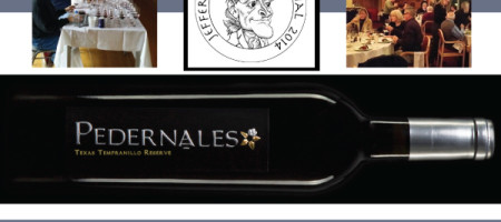 PEDERNALES CELLARS IS LONE TEXAS WINNER OF THE 2014 JEFFERSON CUP, HONORING TOP AMERICAN WINES