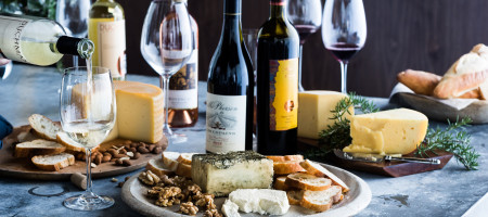A Texas Tasting Party: A star sommelier pairs five local cheeses with great local wines