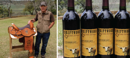 Driftwood Estate Winery Wins Saddle for Top Texas Wine of 2015
