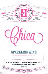 Hye Meadow Winery Chica Sparkling wine