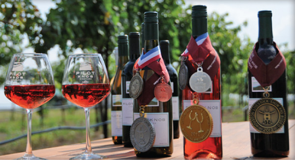 Pilot Knob Vineyard & Winery Wins 3 Medals in its Debut TEXSOM Competition