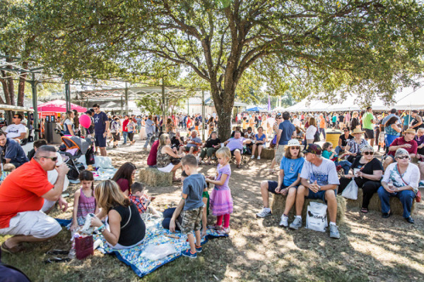 Fredericksburg Food and Wine Festival October 22