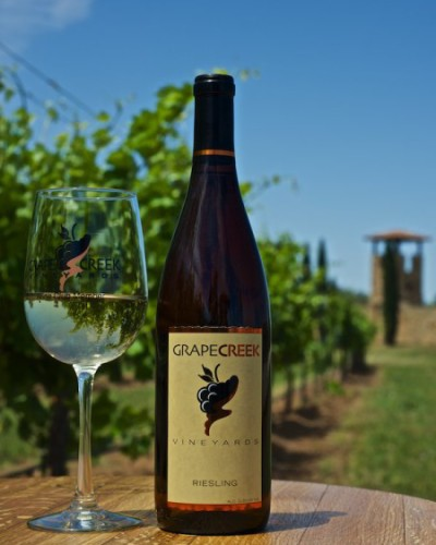 SPOTLIGHT POST: Grape Creek Vineyards Riesling Release from Jeff Binney