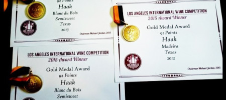 Haak Wine Wins Big at Los Angeles International Wine & Spirits Competition