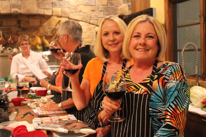 Los Pinos Ranch Vineyards Texas Winery cooking classes