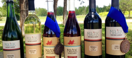Majek Vineyard & Winery awarded eight medals in the 2015 Lone Star International Wine competition