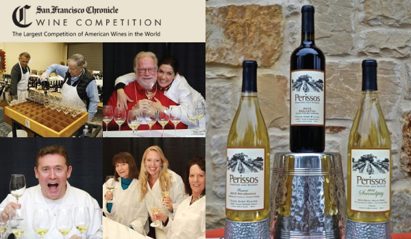 "Perissos Vineyards Receives its 4th ""Best of Class"" Award, 2 Double Golds at 2017 San Francisco Chronicle Wine Competition"