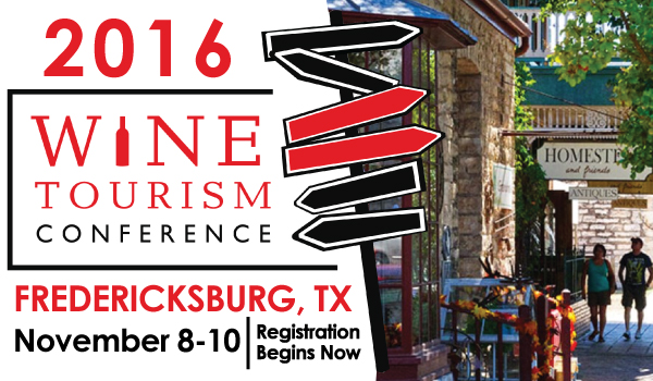 Fredericksburg Named As Official Host of 2016 International Wine Tourism Conference